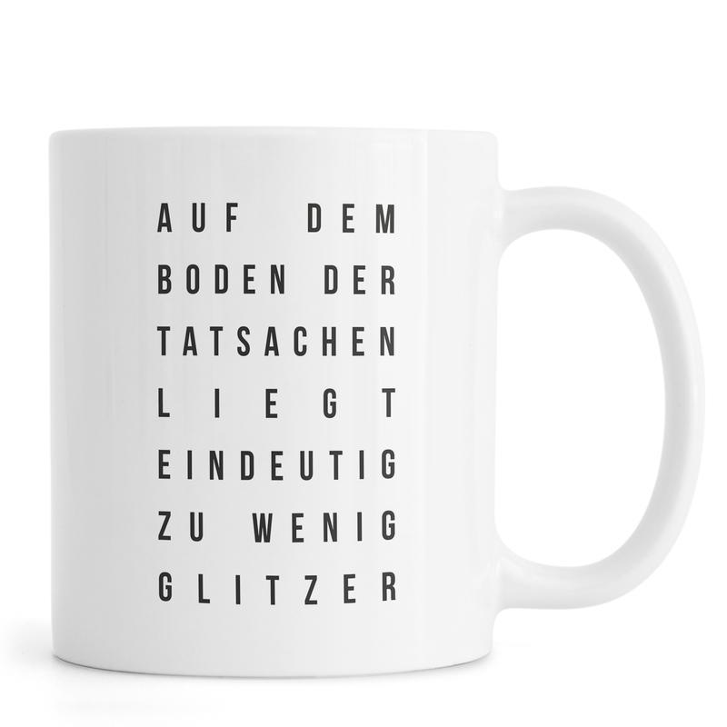 Sabrina's Glitzer -Tasse