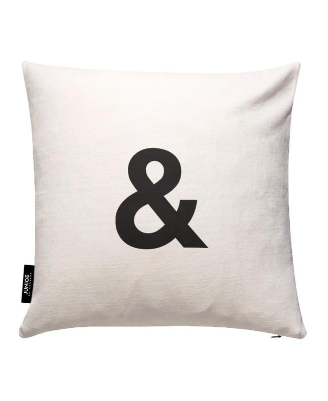 Ampersand Cushion Cover