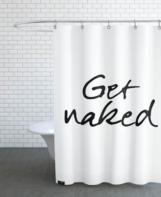 Get Naked -Duschvorhang