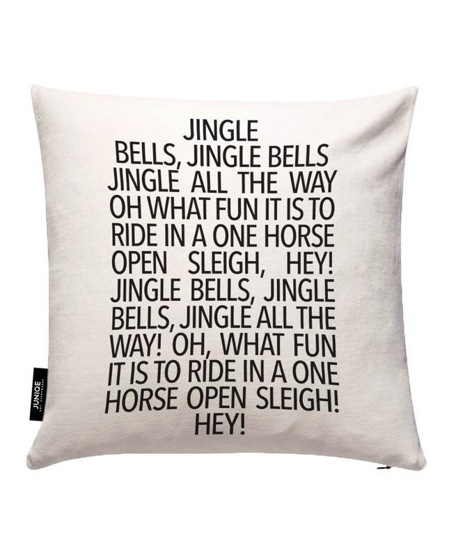 Jingle Bells Cushion Cover