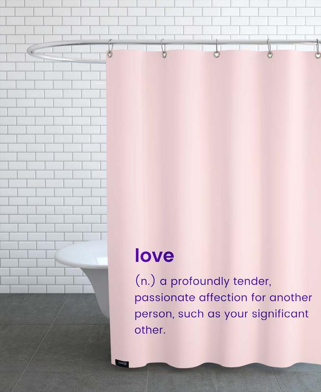 Anniversaires de mariage et amour, Saint-Valentin, For Your Partner rideau de douche
