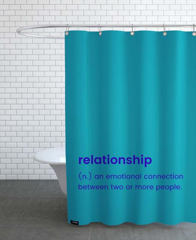 Anniversaires de mariage et amour, Saint-Valentin, Relationship rideau de douche