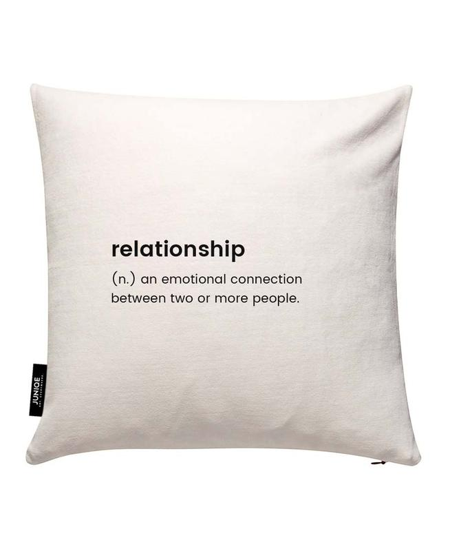 Relationship 2 Cushion Cover