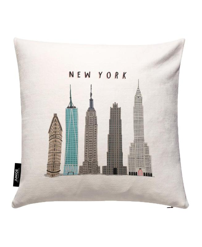 New York Buildings Cushion Cover