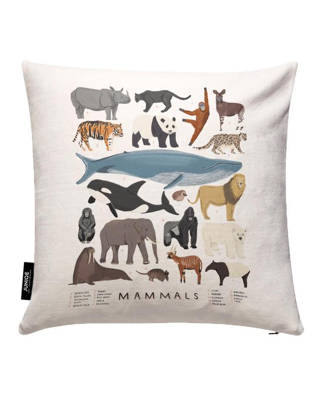Mammals Cushion Cover