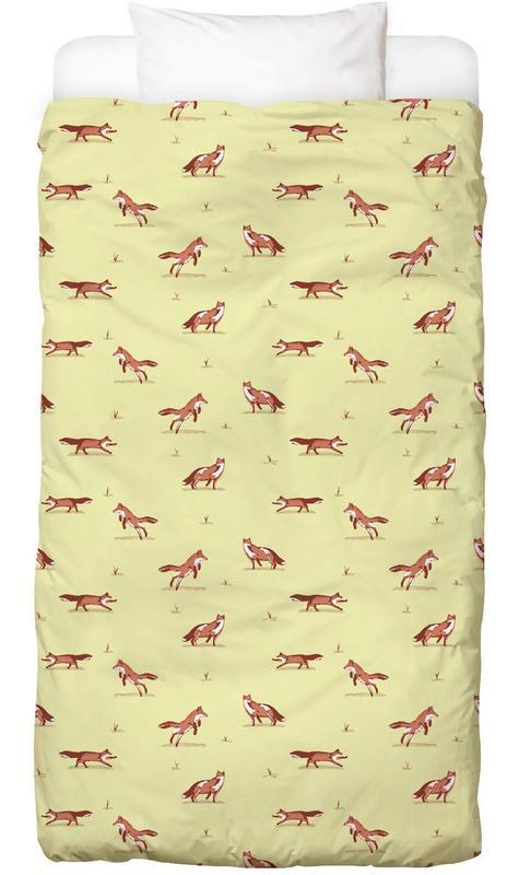 Füchse, Kinderzimmer & Kunst für Kinder, Foxes Bettwäsche