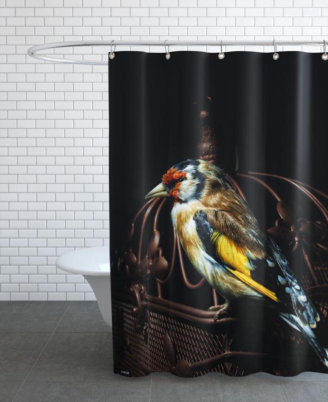 Birds Everywhere 22 Shower Curtain