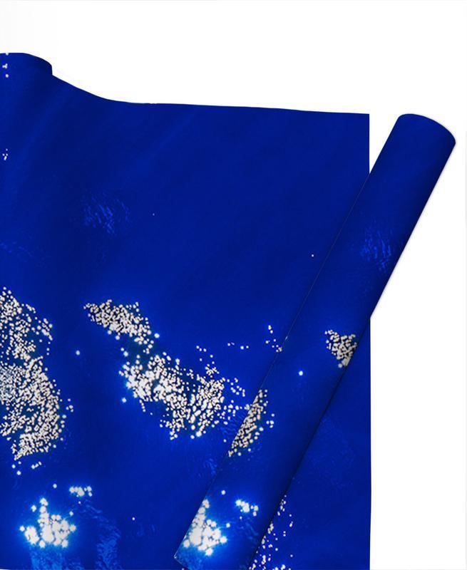 Pazifikblau -Geschenkpapier