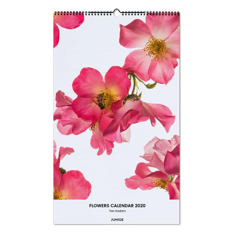 Flowers Calendar 2020 - Tan Kadam Wall Calendar