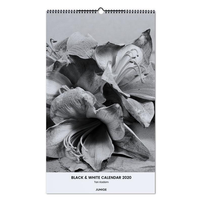 Black & White Calendar 2020 - Tan Kadam -Wandkalender