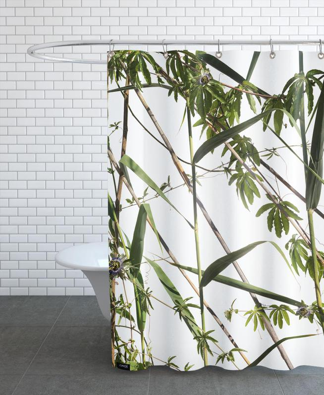 Flora - Passionsblume -Duschvorhang