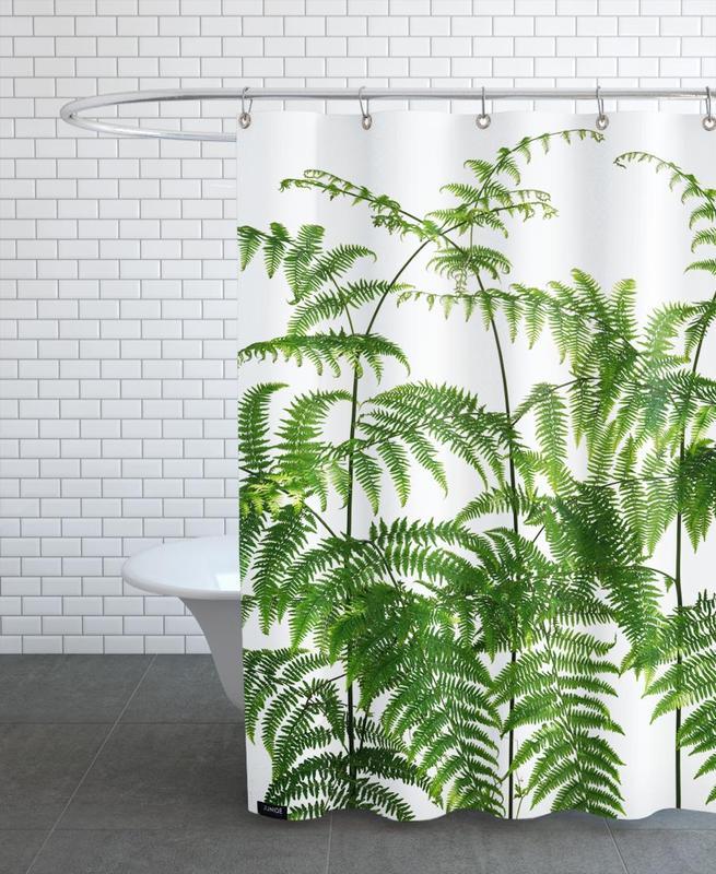 Flora - Adlerfarn -Duschvorhang