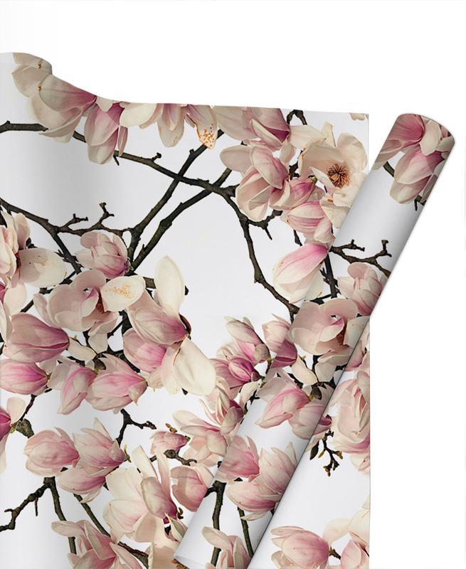 Flora - Magnolie -Geschenkpapier