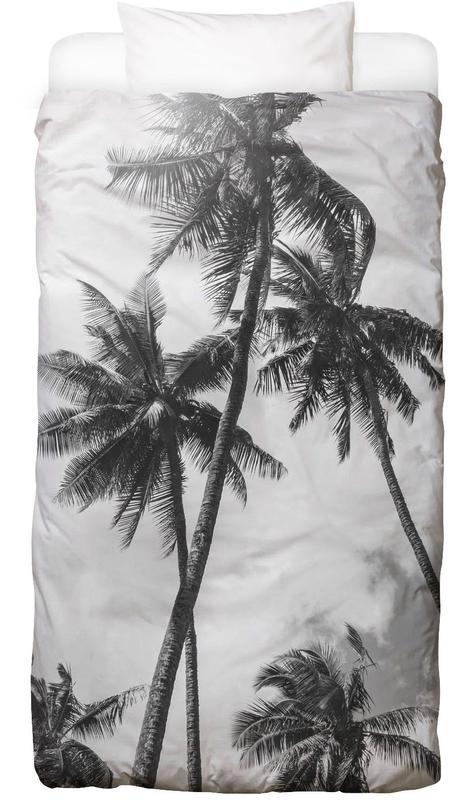 Schwarz & Weiß, Palmen, Palme Bounty Bettwäsche