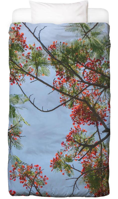Flammenbaum-Äste Bettwäsche