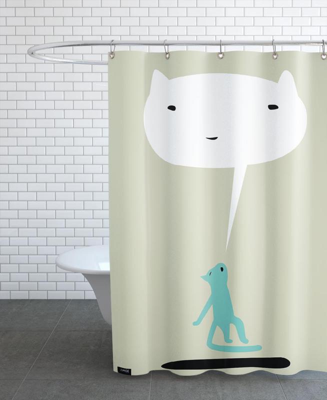 Art pour enfants, Cat Ghost rideau de douche