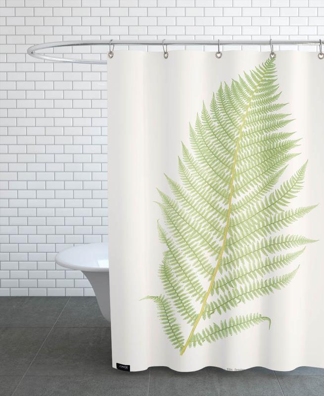 Ferns 2 Shower Curtain