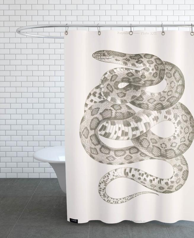 Reptiles - Plate XXII Shower Curtain