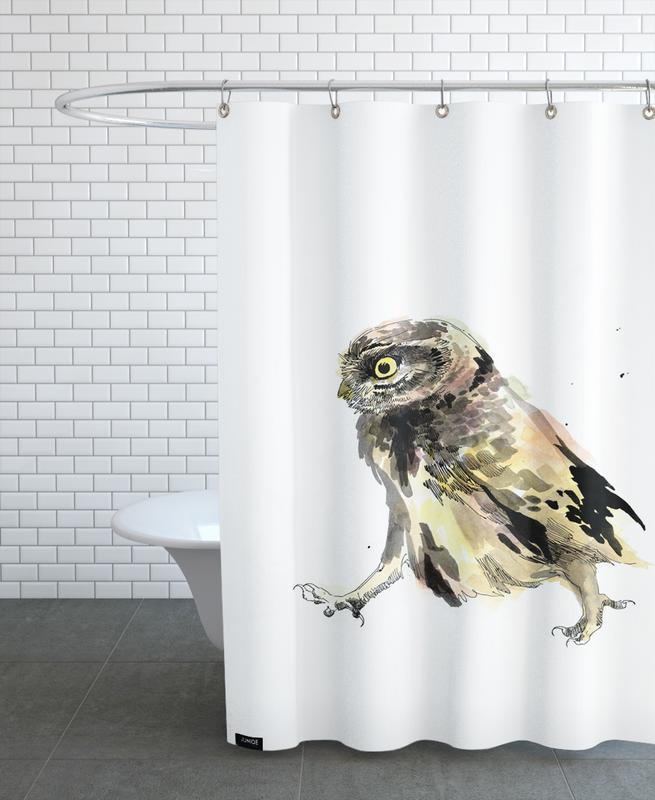 Art pour enfants, Chouettes, Elio rideau de douche