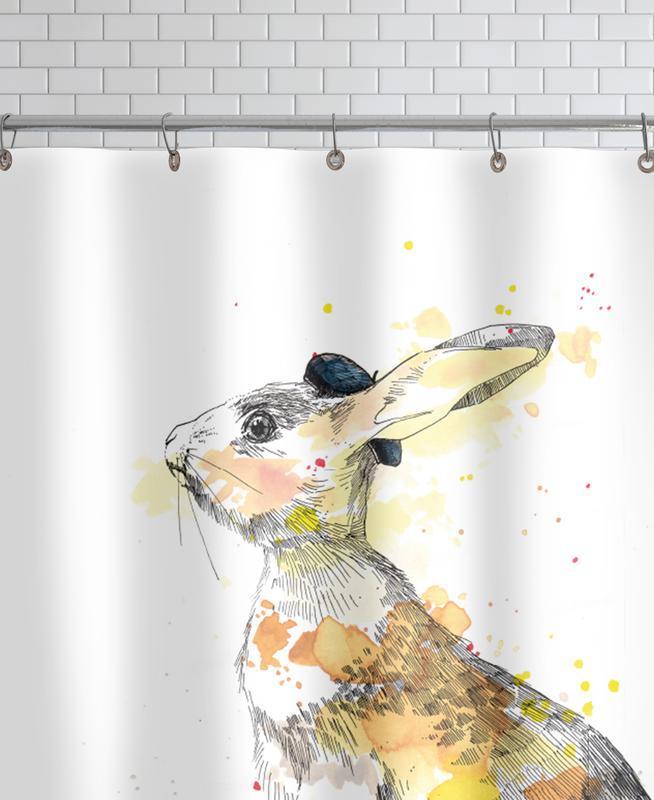Art pour enfants, Lapins, Häschen rideau de douche