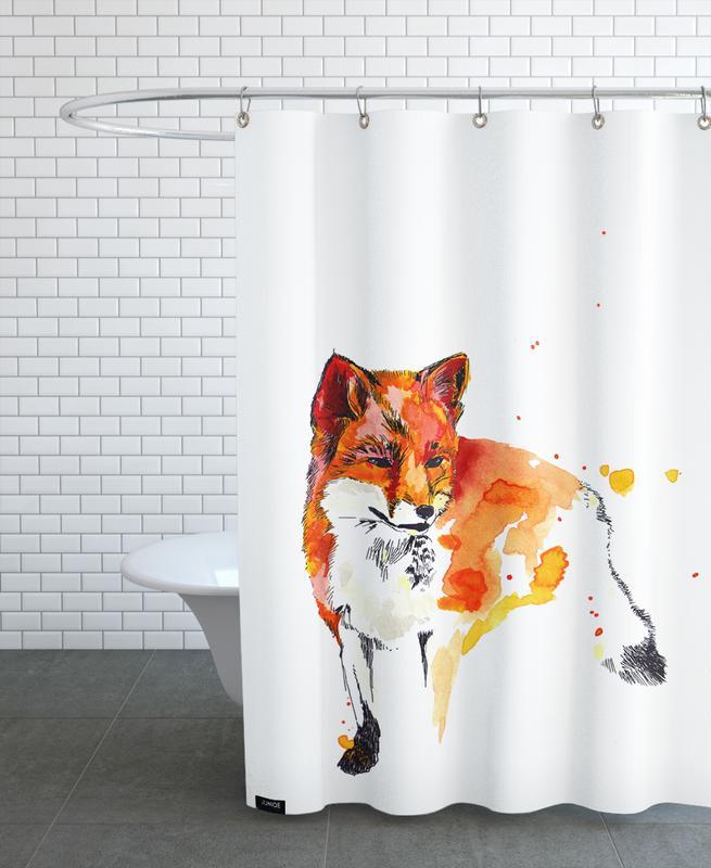 Chats, Art pour enfants, Luzius Famal rideau de douche
