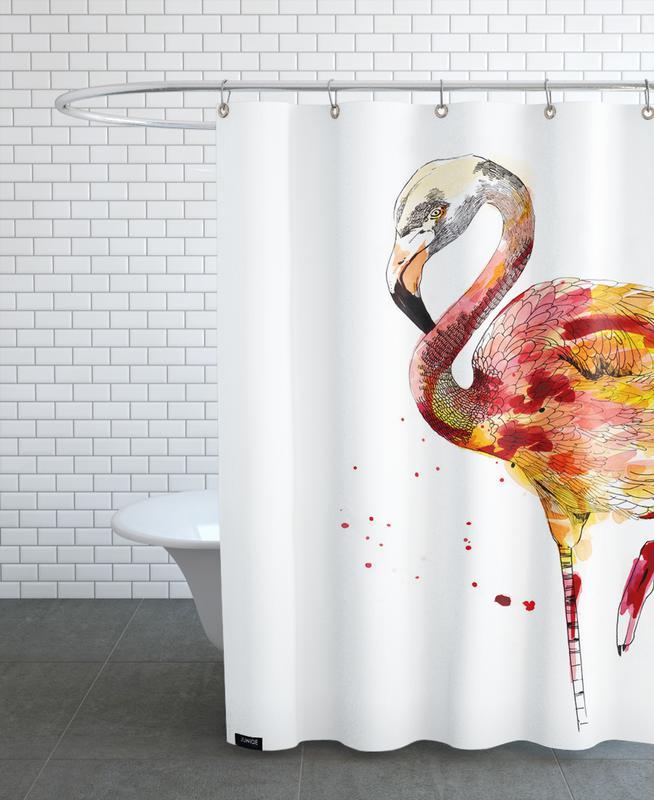 Renards, Art pour enfants, Marie Fleurette rideau de douche