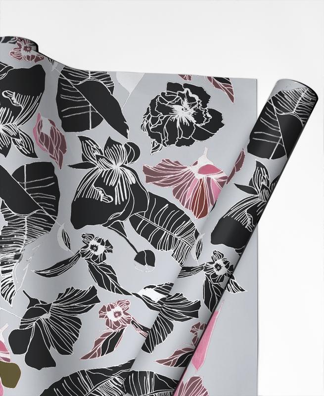 Feuilles & Plantes, Wildflowers 3 papier cadeau