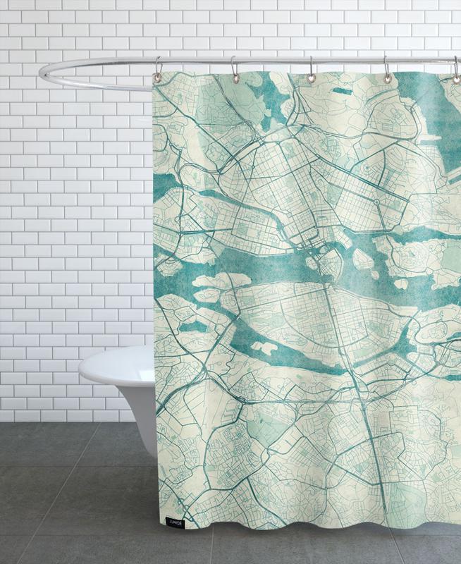 Stockholm Vintage Shower Curtain