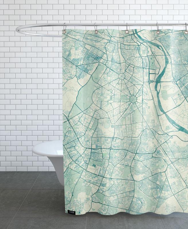 New Delhi Vintage Shower Curtain