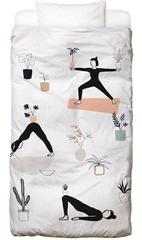 Yoga With Plants 04 Bed Linen