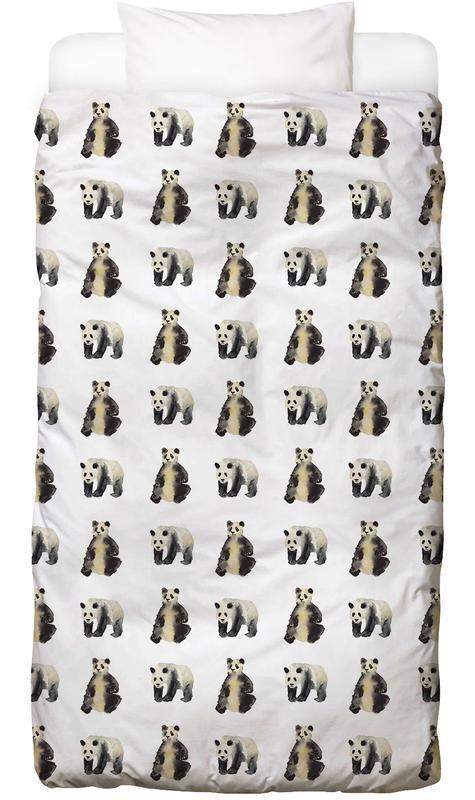 Art pour enfants, Pandas, Panda Linge de lit