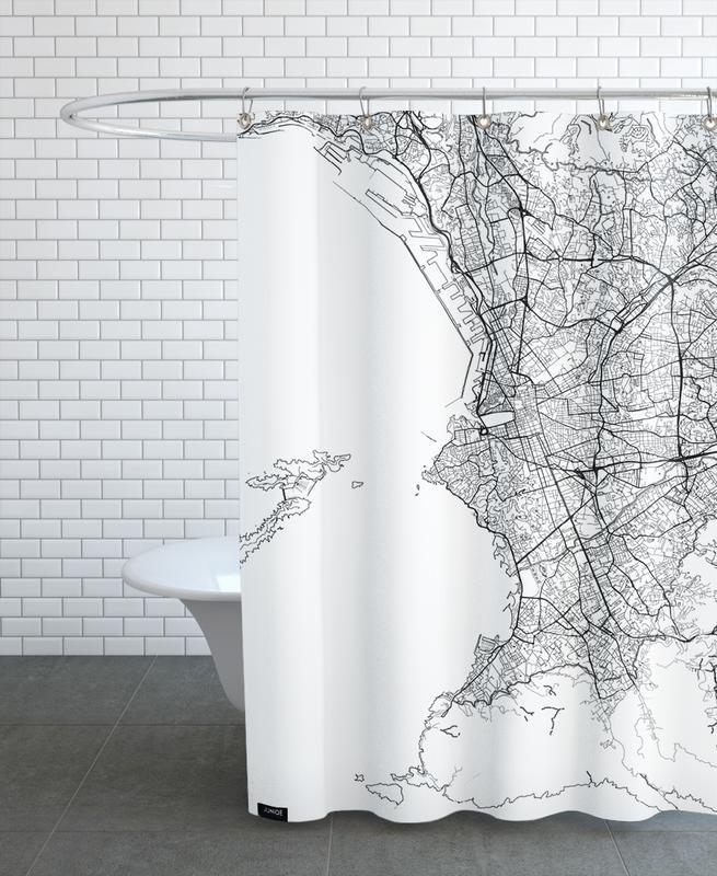 Marseille Minimal rideau de douche
