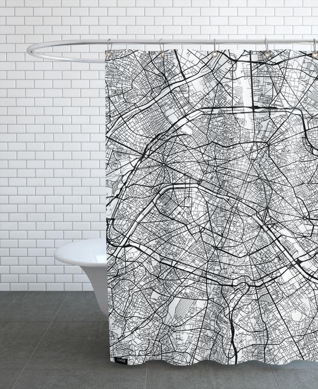 Paris Minimal rideau de douche