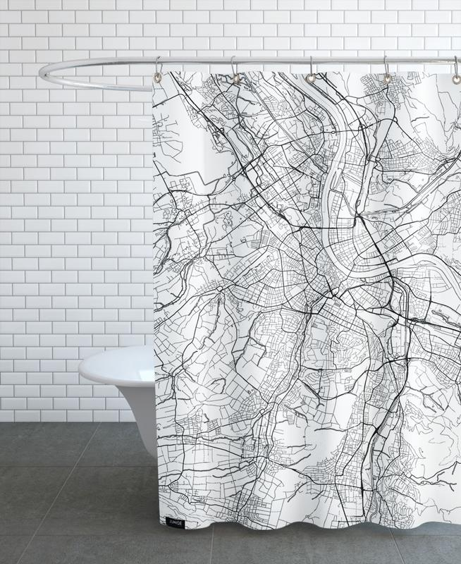 Basel Minimal Shower Curtain