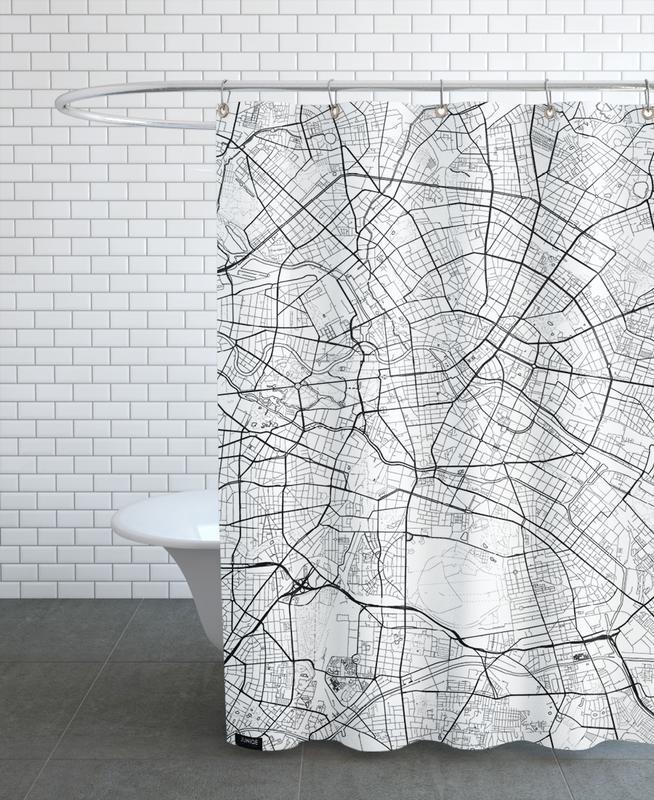 Berlin Minimal rideau de douche