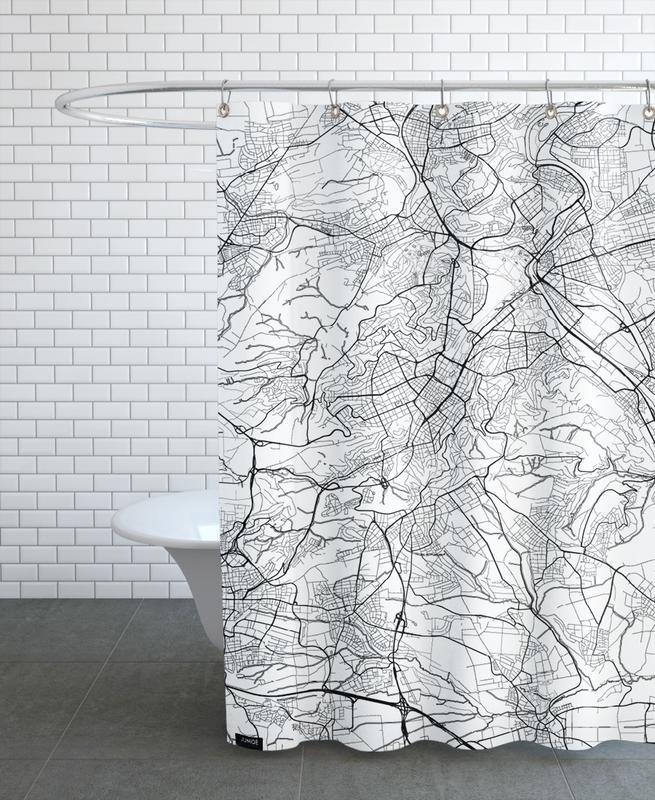 Stuttgart Minimal rideau de douche