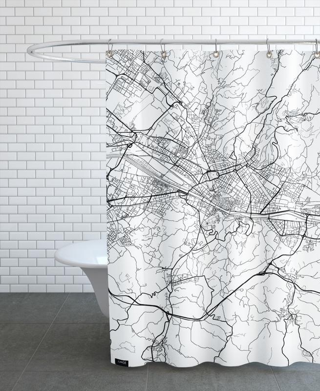 Florence Minimal Shower Curtain