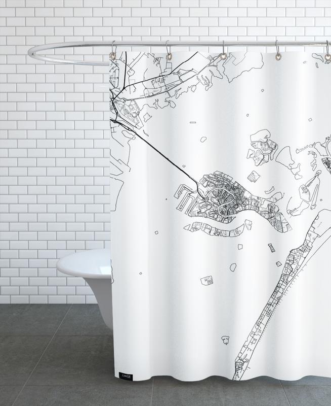 Venice Minimal -Duschvorhang