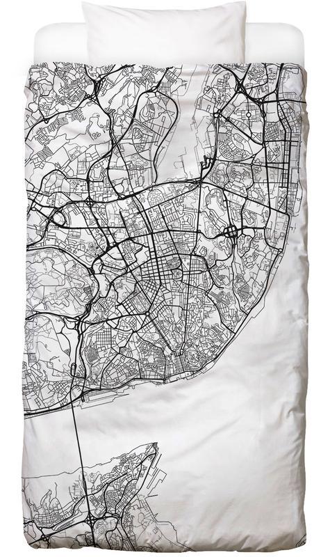 Lisbon Minimal Bettwäsche