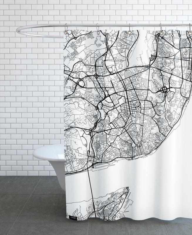 Lisbon Minimal rideau de douche
