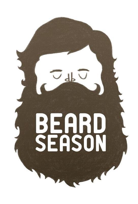 Beard Season acrylglas print