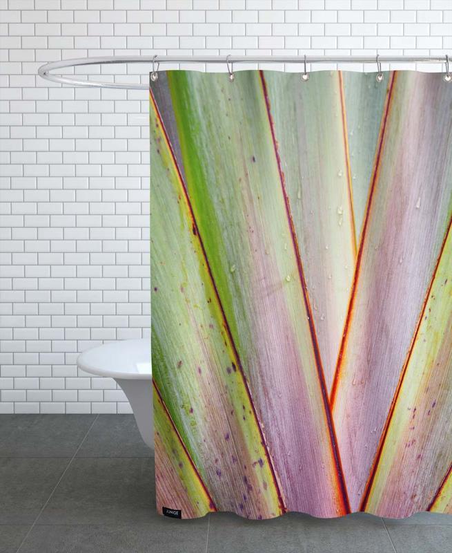 Flax Pattern -Duschvorhang