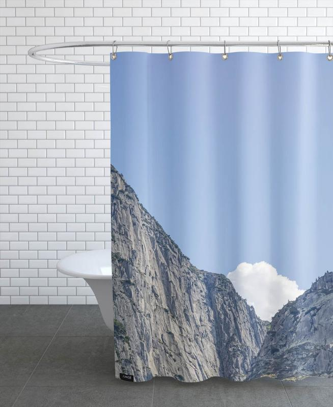 The White Cloud Shower Curtain