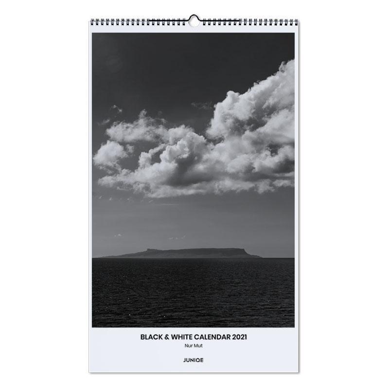 Zwart en wit, Nur Mut - Black & White Calendar 2021 wandkalender