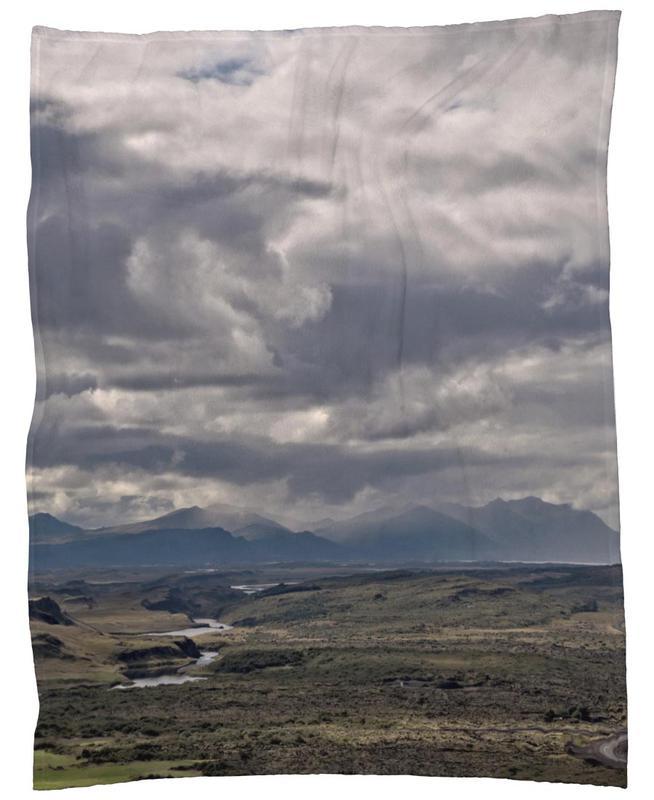 In the distance Fleece Blanket