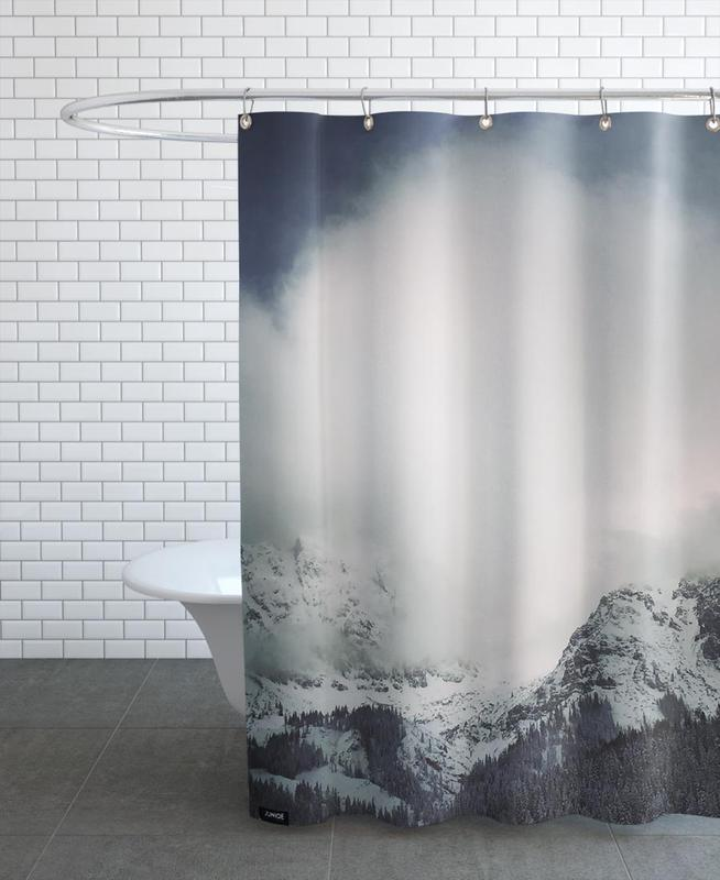 Mountains, The Alps 3 Shower Curtain