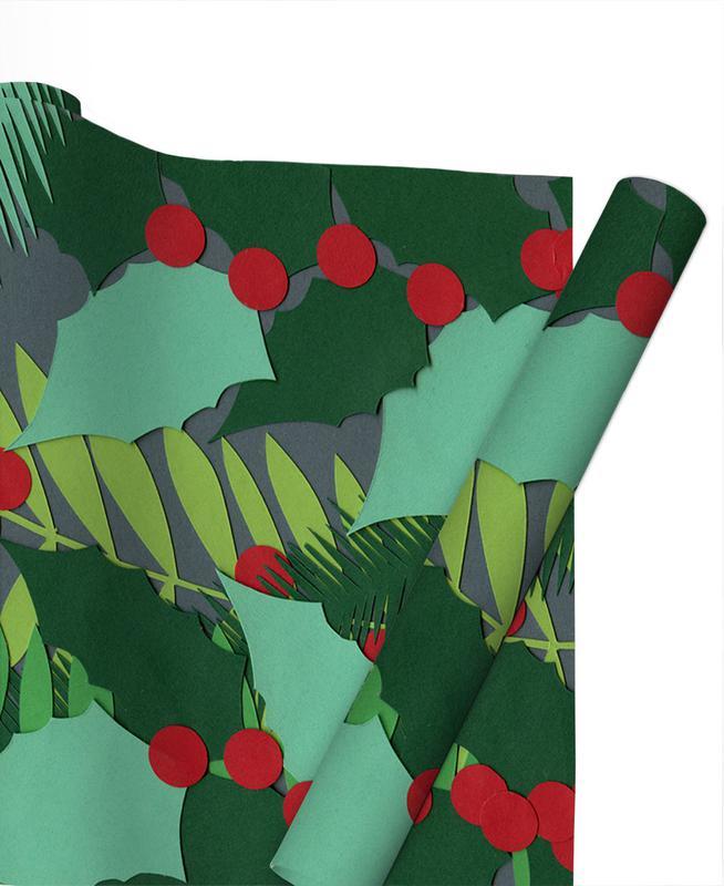, Vintage Christmas No.3 Gift Wrap