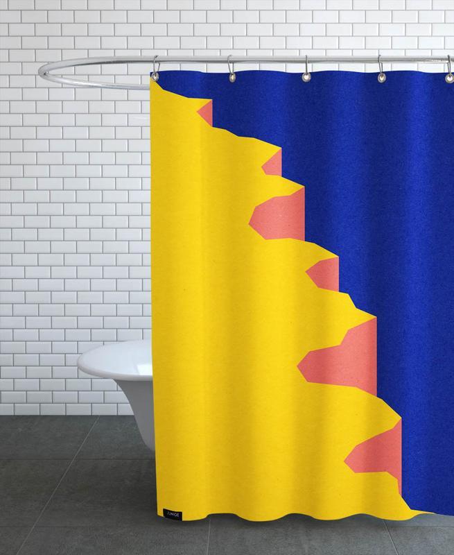 Big Sur V Shower Curtain