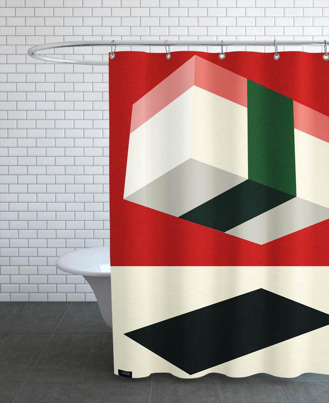 Flying Nigiri Shower Curtain