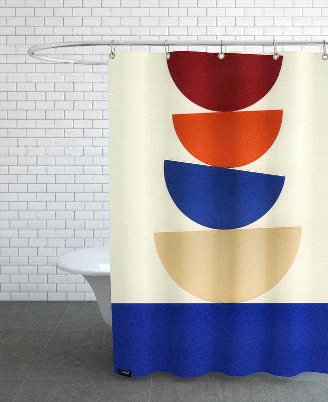 Four Bowls Shower Curtain